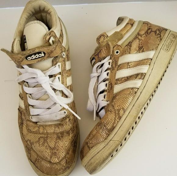 detailed look 635b9 a7c0a adidas Chaussure ens haut haut haut baskets s poshmark concorde 034990